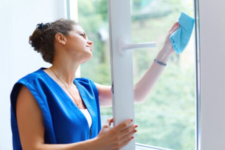 Consejos para mantener limpias tus ventanas de pvc