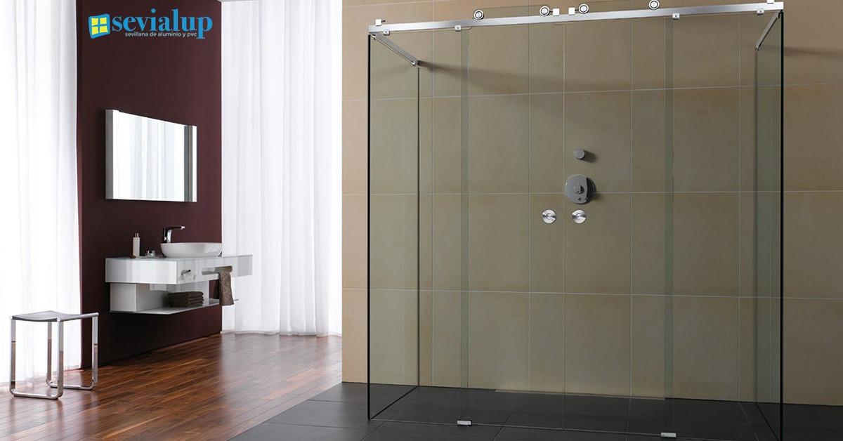 Mamparas de ba o y mamparas de ducha en sevilla sevialup - Duchas para bano ...