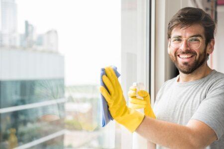 Qué no utilizar para limpiar las ventanas PVC