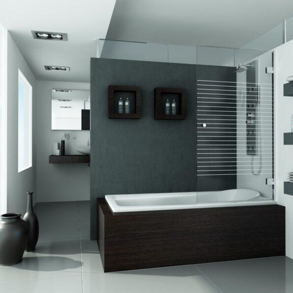 Mampara de baño DUBAI